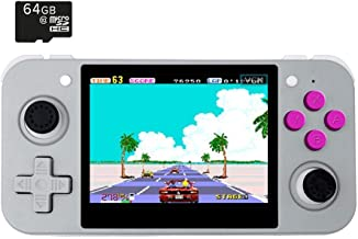 BITTBOY RetroGame RG350 Grey Retro Gaming Portable Handheld Console OpenDingux CFW IPS Display 2500mAh Battery [RG-350-G]