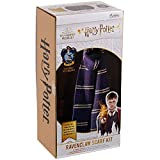 Harry Potter Wizarding World Colección de kits de tejer | Hogwarts Ravenclaw House Bufanda Kit de punto por Eaglemusgo Hero Collector