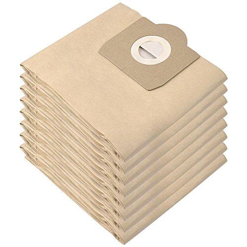 KEEPOW 8 Bolsas de Filtros de Doble Capa para Aspiradora Kärcher WD 3, Compatible con Aspiradoras Kärcher WD 3 (Modelos WD 3, WD 3 P y WD 3 Premium) Pack Familiar