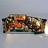 Lego Ideas Friends Central Perk Kit De IluminacióN Led, Compatible Con El Modelo De Bloques De ConstruccióN Lego 21319 (No Incluye El Juego Lego)
