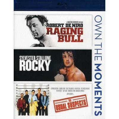 Raging Bull / Rocky / The Usual Suspects [Blu-ray]