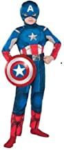Captain America Child Costume Medium 8-10