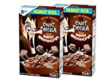 General Mills Count Chocula Chocolatey Halloween Breakfast Cereal with Monster Marshmallows: Family Size - 2 Pck (39 oz)