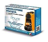 PHURE Addolcitore Acqua Antibatterico Filtro Anticalcare Universale per tutte le Macchine da Caffè e Bollitori, indicato per Nespresso (ADDOLCITORE D'ACQUA)