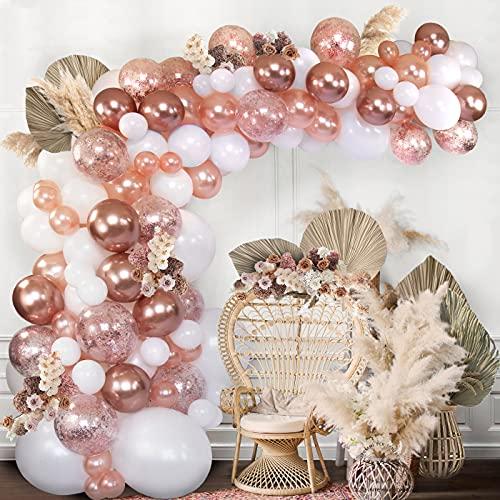 Balloon Arch Garland Kit Rose Gold
