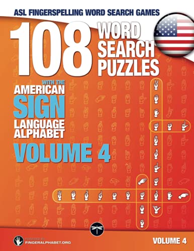 Compare Textbook Prices for ASL Fingerspelling Word Search Games - 108 Word Search Puzzles with the American Sign Language Alphabet, Volume 04: Bundle 01 Volumes 1+2+3 Volume 4 1 Edition ISBN 9783864690204 by Lassal,Lassal