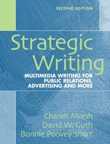 Strategic Writing: Multimedia Writing for Public...