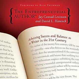 The Entrepreneurial Author audiobook cover art