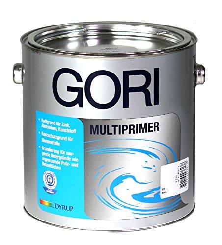2,5L GORI Multiprimer 800 Weiß Haftvermittlung für Zink Alu Hart-PVC