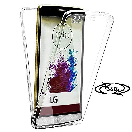 United Case Custodia Full Cover per LG G4 | Cancella TPU Cover Chiaro | Antiurto