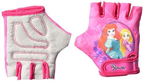 Disney Mädchen Princess Fahrradhandschuhe, Mehrfarbig, S