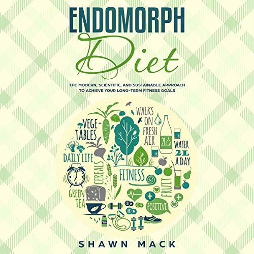 『Endomorph Diet: The Modern, Scientific, and Sustainable Approach to Achieve Your Long-Term Fitness Goals』のカバーアート