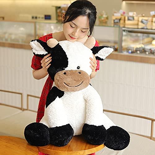 25/35/50/70 cm Juguete de Peluche de año de Vaca Lindo Ganado Animales de Peluche muñeco Suave de Ganado Juguetes para niños Regalo de Moda de cumpleaños para niños 50cm
