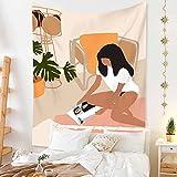 YTLSA tapizTapiz nórdico Simple, Tela Colgante para habitación, decoración de cabecera, Revestimiento de Paredes, decoración de Fondo, Mantel, Cortina, Toalla de Playa