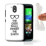 Stuff4 Gel TPU Hülle/Case für HTC Desire 526G+ / Wird Die