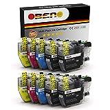 OBENO - 2 Sets 2BK- LC3217 LC3219 10 Packs Cartucho de Tinta Compatible para Brother MFC-J5330DW MFC-J5335DW MFC-J5730DW MFC-J5930DW/ J6530DW/ J6930DW/J6935DW (2 Black, 2 Cyan, 2 Magenta, 2 Amarillo)