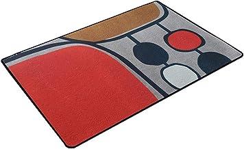 JIAJUAN Indoor Doormat Large Size Non-Slip Front Door Entryway Rugs Mat Living Room Kitchen Carpet Machine Washable, Custo...