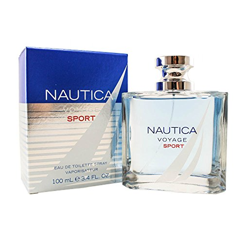 Nautica Nautica Voyage Sport Eau De Toilette Spray 3.4 Oz/ 100 Ml for Men By Nautica, 23 Fl Oz, I0030560