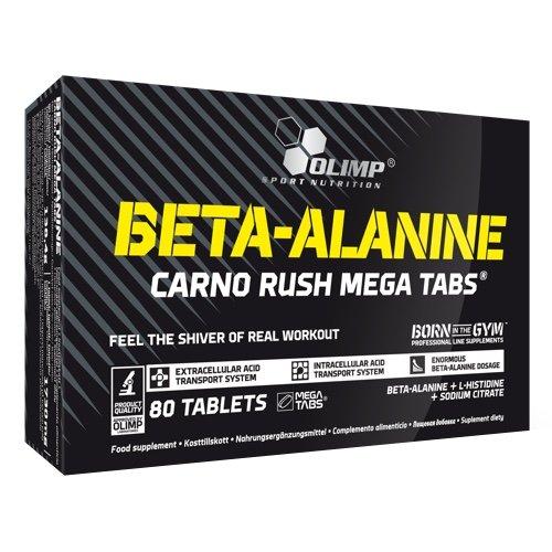 Olimp Beta-Alanine Carno Rush Mega Tabs, 80 Tabletten