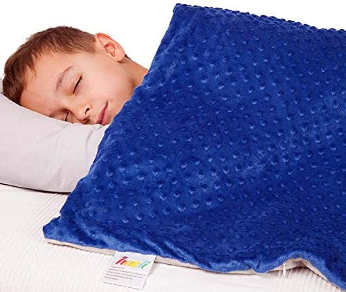 Super Soft 7 Lbs Weighted Blanket for Kids with Removable Cover 41 x 60 Children Heavy Blanket product image