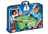 PLAYMOBIL - 9298 - Stade Foot Transportable  FIFA - Russie 2018