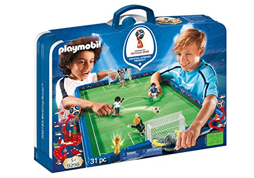Playmobil-2018 FIFA World Cup Russia Campo Fútbol