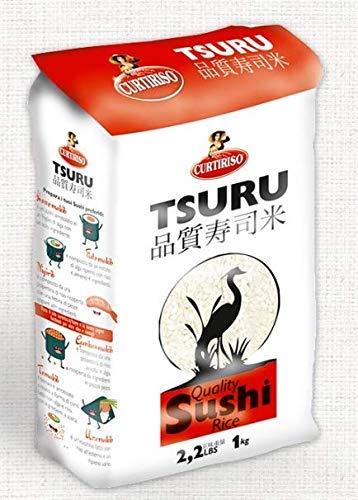 RISO PER SUSHI TSURU 1KG CURTIRISO