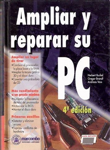 Ampliar y reparar su PC
