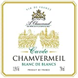 Cuvée Chamvermeil Blanc De Blancs 11,5° (Sec) - Vin De France - Cubitainer De 22 Litres