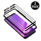 LXIAN S8 plus Screen Protector (2 Pack), [3D Curved] [Full