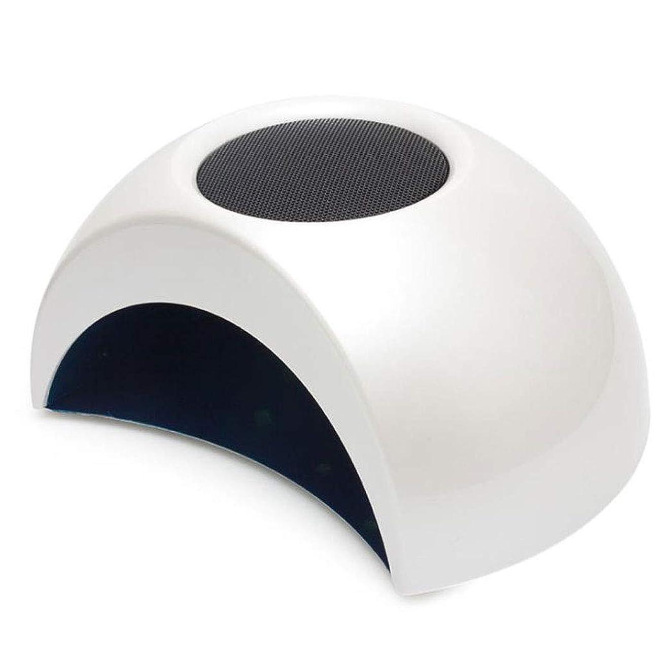 昇進うめきネイル光線療法機 ネイルドライヤー - ネイルライトプロフェッショナルネイルドライヤーLEDマシンファーストキュアジェル