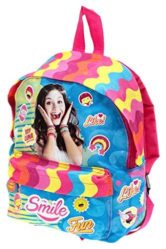 Disney Soy Luna Kinderrucksack für Mädchen, Mehrfarbig
