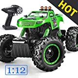 Remote Control Trucks Monster RC Car 1: 12 Scale Off Road Vehicle 2.4Ghz Radio Remote Control Car 4WD High...