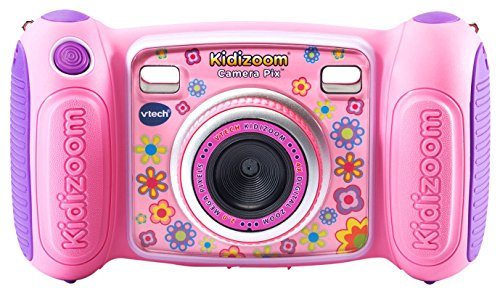 VTech KidiZoom Camera Pix, Real Digital Camera for Kids (Pink $20.30 or Blue $20.90) + Free Shipping w/ Prime or $25+