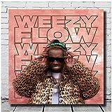 Sanwooden Weezy Flow Lil Wayne & Lil Uzi Vert Drucken
