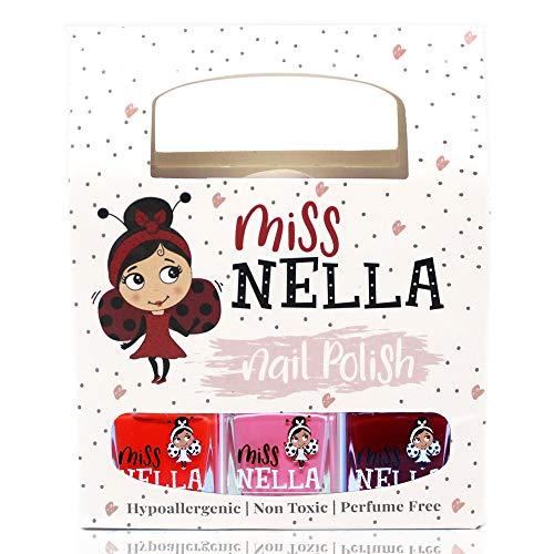 Miss Nella JUST LIKE MUMMY'S- Set von 3 Miss Nella Nagel Lack auf Wasserbasis, Schäl- und geruchsneutral. Unser Nagellack ist sicher und macht Spaß!