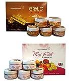 Professional Feel Mix Fruit + Gold Facial kit sp. combo beaity parolour diamond anti tan Suitable...