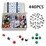 Tilcasoor Kit de Modelos Moleculares (440 Unidades)...