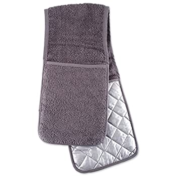 DII 5770 Basic Terry Collection Double Mitt Gray