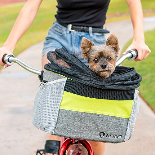 Pet Peddler Dog Bike Basket Pet Travel Carrier