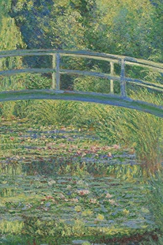 Monet Journal 10 Cool Artist Gifts The Water Lily Pond Claude Monet Notebook Journal To Write product image