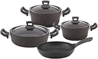 Hascevher germanitium cooking pot set of 7 pcs