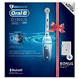 Oral-B Power Genius 8600 - Cepillo de dientes eléctrico (3 unidades, 780 g), color plateado