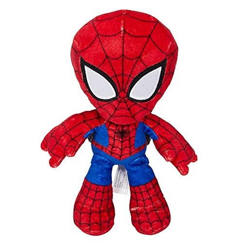 Marvel Peluche Spiderman 20 cm, juguete para niños +3 años (Mattel GYT43)