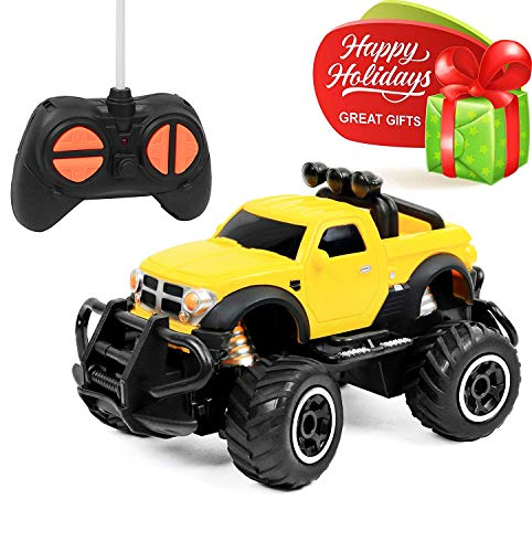 Click N' Play Remote Control Car Mini Pickup Truck Rock Crawler Radio Control Vehicle