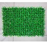 MyWheelieBin Simulation Plante Mur Fond Mur en Plastique Pelouse Plante Verte Mur Porte Tête Magasin Recruter Image Mur Simulation Fleur Décoration Murale 247 Grandes Herbes