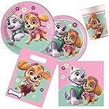 Procos 10133067-Set de Fiesta de cumpleaños Infantil con diseño de la Patrulla Canina, Multicolor (10133067)