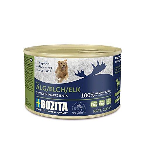 Bozita Dog Paté Elch | 20x 200g Hundefutter nass