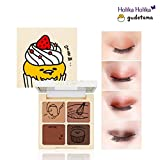 [Holika Holika] Lazy & Joy Gudetama Cupcake Eye Paltte Shadow 6g (#01 Red Velvet)