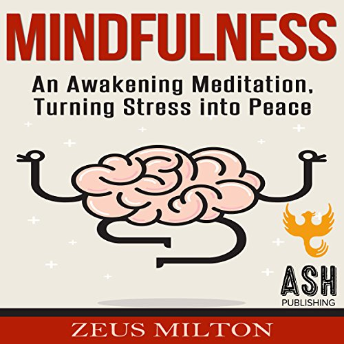 Mindfulness: An Awakening Meditation, Turning Stress into Peace audiobook cover art